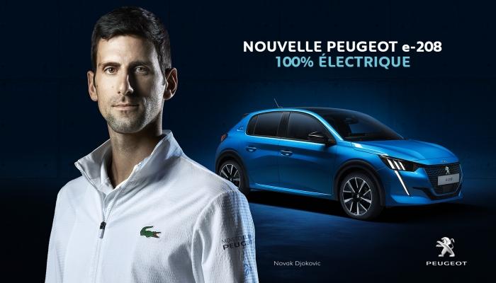Peugeot Down Tube Decal en saphir avec Dégradé Rayures référence SKU PEUG 112